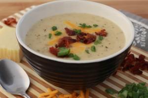 Potato Leak Soup