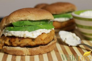 Wildtree Sweet Potato Burgers