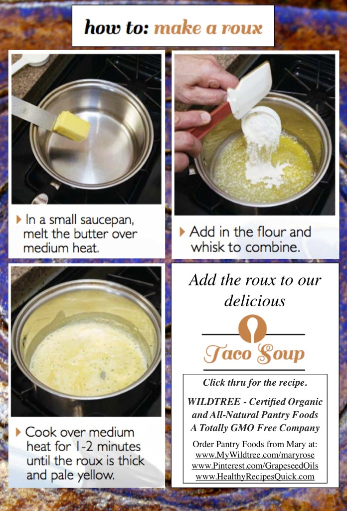How to Make a Roux - Steps by Wildtree